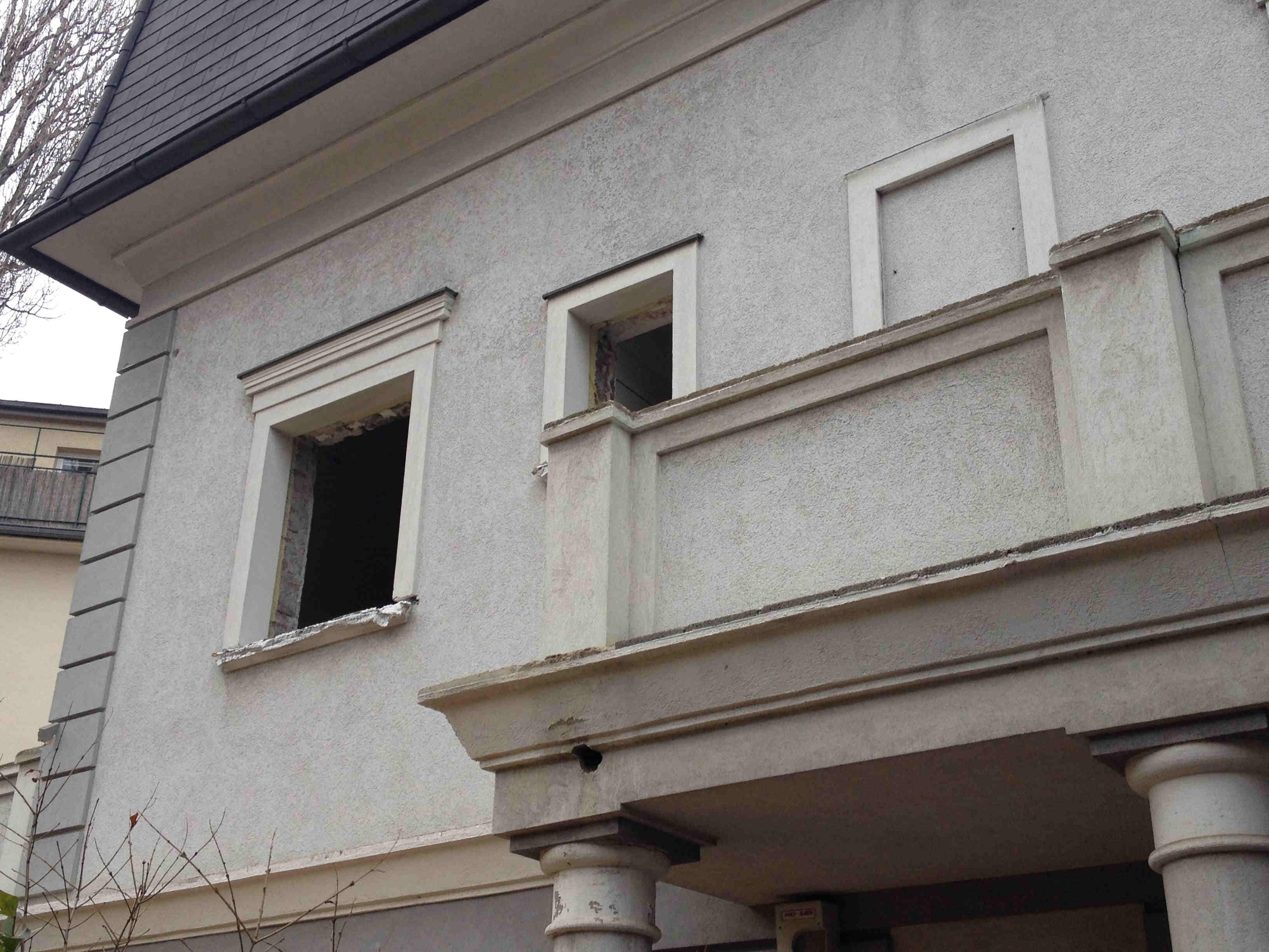 Foto Fassade fensterlos